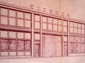 Garage Citroen porte Océane Photographie d'Edouard Sautai