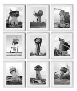 Swen Renault, Killing Becher, 2013, ensemble d 9 photographies, 18 x 24 cm